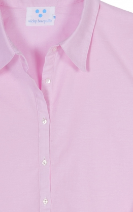 Camisola oxford color rosa